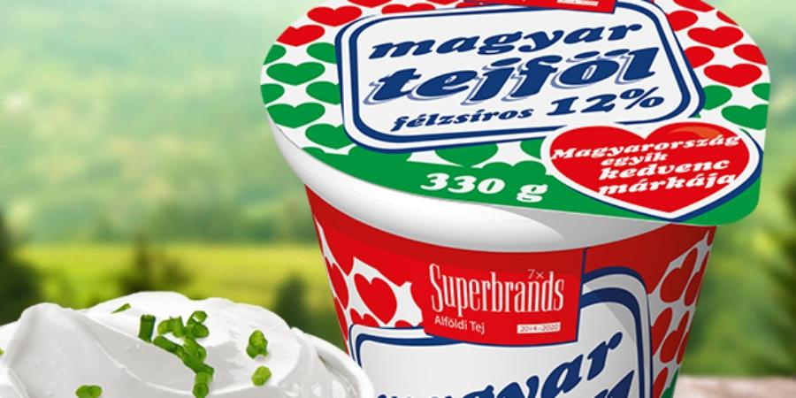 Alföldi Tej magyar tejföl