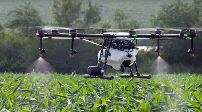 drón mezőgazdaság