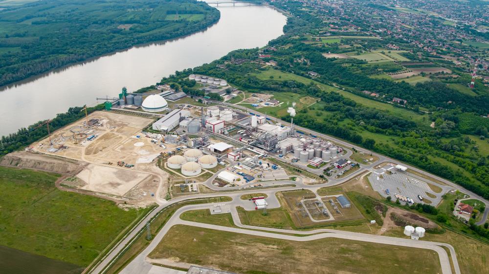 gabona-biofinomító üzem Dunaföldvár