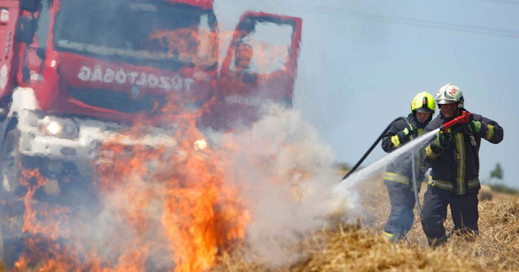 mezőgazdaság tűz tarlótűz